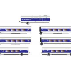 E3345 Set de 6 coches Talgo...