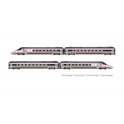 E10201S Set Renfe 4 Coches,...