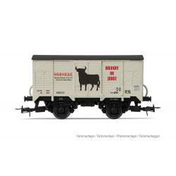 HE6012 R.N. vagón cerrado...