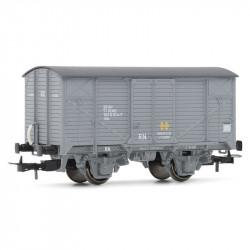 Vagón cerrado J RENFE gris,...