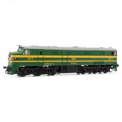Locomotora diesel DCC...