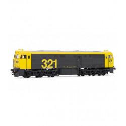 Locomotora diesel RENFE...