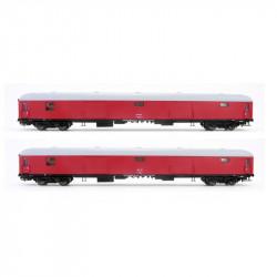Set 2 furgones DD-8100 rojo...