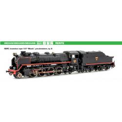 Locomotora de vapor Arnold...