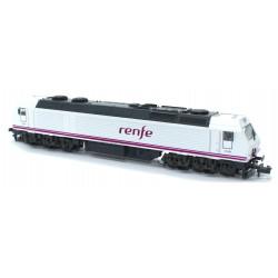 Locomotora 333.406-7, Renfe...