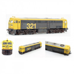 Locomotora diesel 321.025...