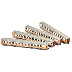 SET DE 4 COCHES 16200 RENFE...